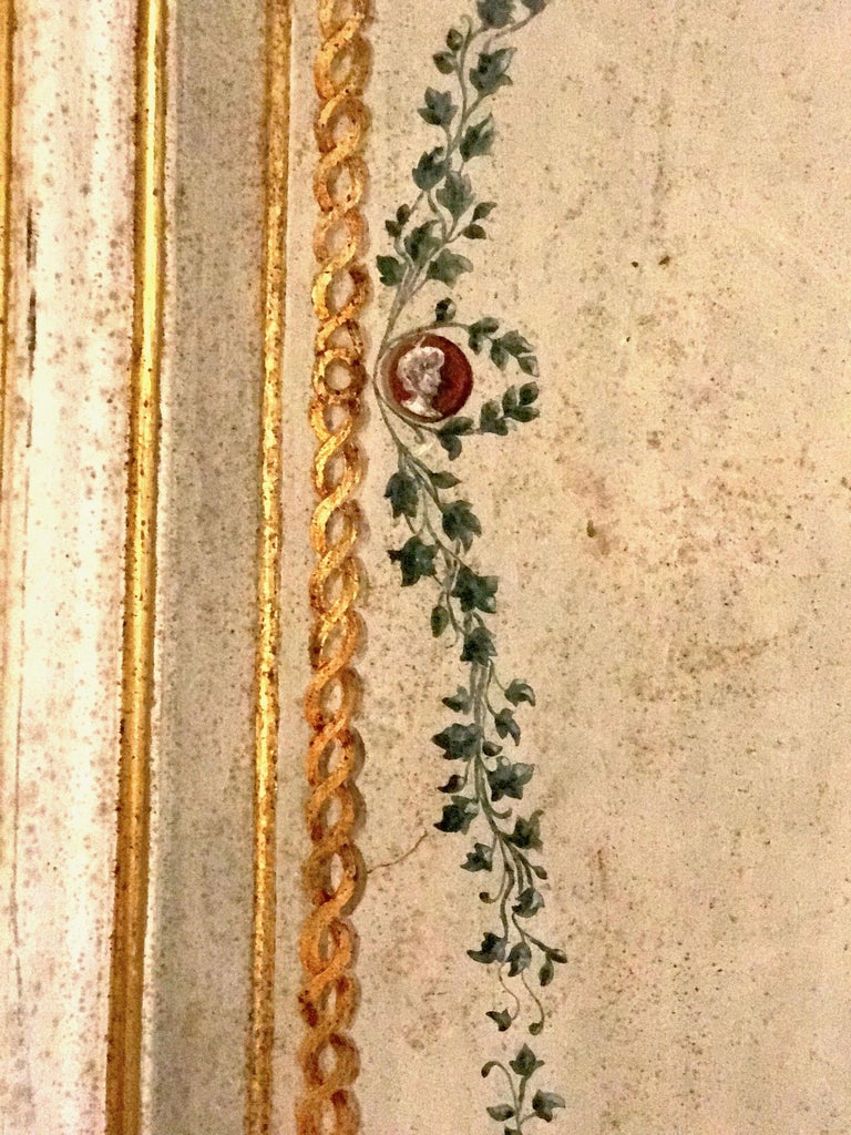 Four Pairs of 19th Century Italian Painted Doors or Panelling For Sale 5