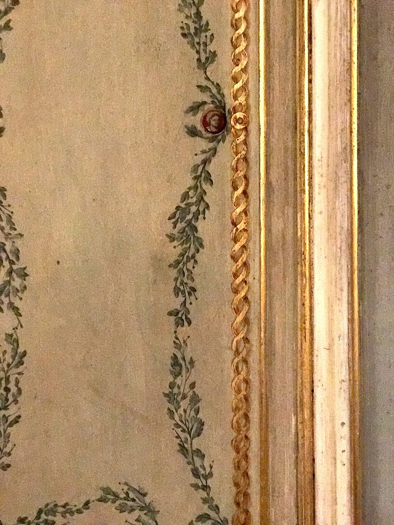 Four Pairs of 19th Century Italian Painted Doors or Panelling For Sale 8