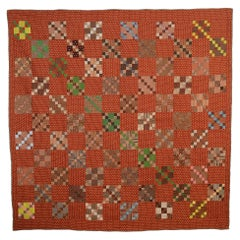 Four-Patch in Nine-Patch Quilt