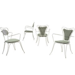 Four Patio Chairs in ZAK+FOX 'Fantasma' Collection 2020 Upholstery