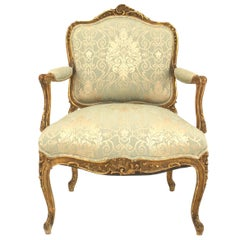 Four-Piece French Louis X Style Living Room Set