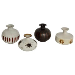 Four Piece Japanese Weed Pot Collection by Otagiri Mercantile Company
