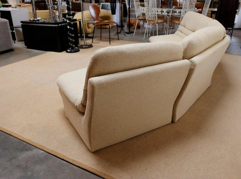 American Four Pieces Sectional Attributed to Vladimir Kagan For Sale