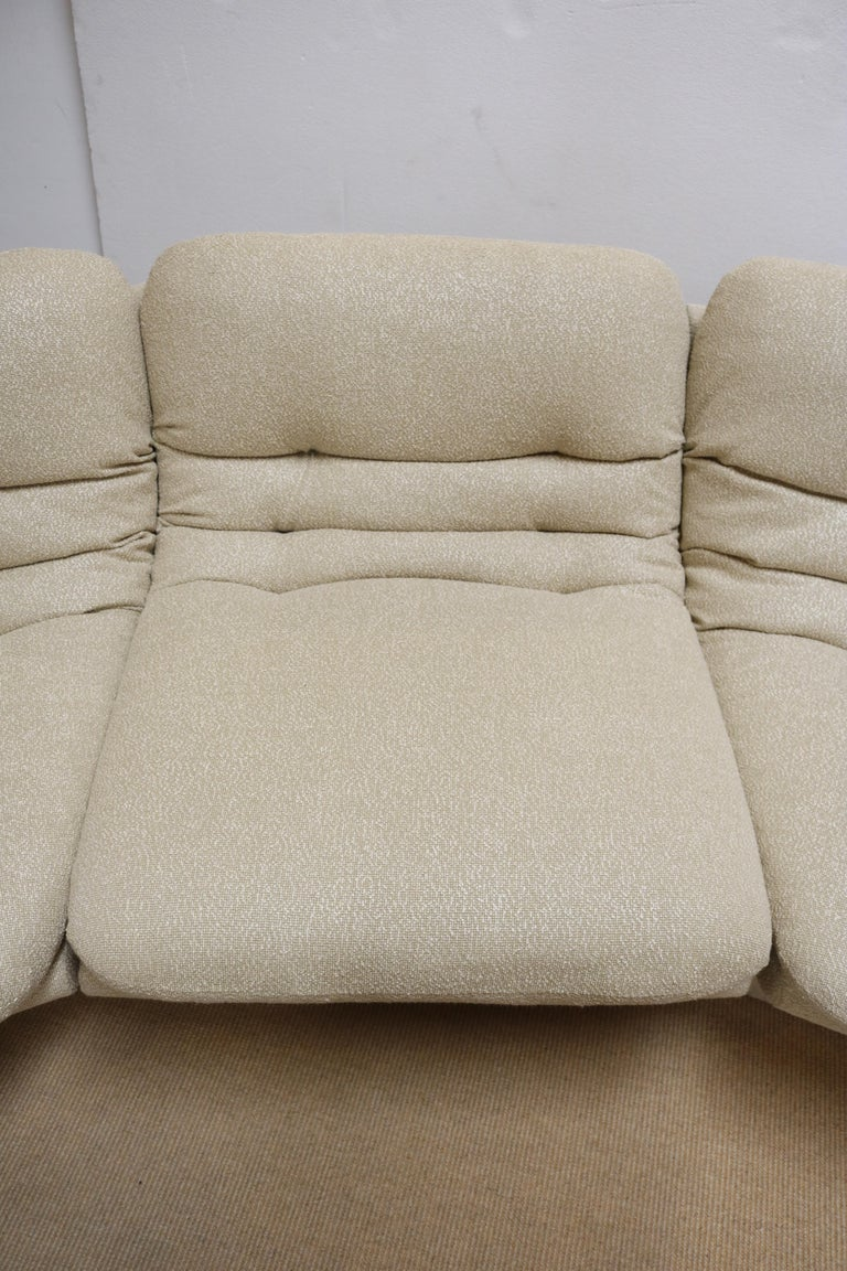 Four Pieces Sectional Attributed to Vladimir Kagan In Excellent Condition For Sale In Los Angeles, CA