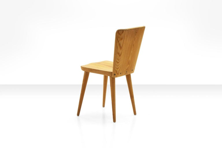 Mid-20th Century Four Pine Dining Chairs by Goran Malmvall for Karl Andersson & Söner, Sweden For Sale