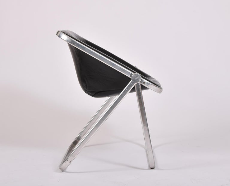 Six Plona Folding Chairs Designed By Giancarlo Piretti For
