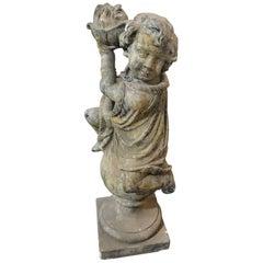 Four Season Putti Statue, Winter