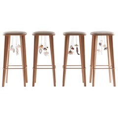 Four Seasons Art Designer's Stools, France, 2019