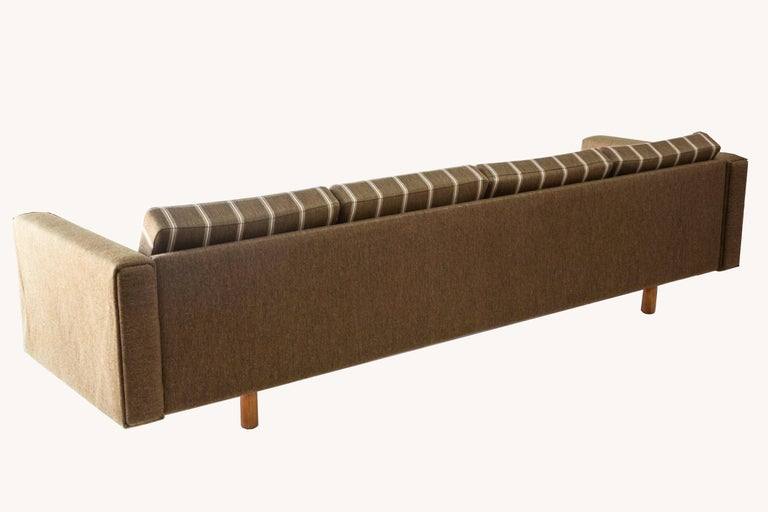 Four-Seat Sofa by Wegner for GETAMA In Fair Condition For Sale In Brooklyn, NY