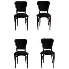 Four Secessionist Chairs by Gustav Siegel for J. J. Kohn Model 717 Austria, 1901