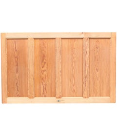 Four Sections of Antique Stripped Pine Dado Height Wall Panelling