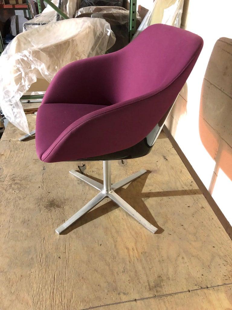 European Walter Knoll Four Star Base Turtle Chair For Sale