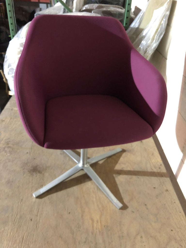 Walter Knoll Four Star Base Turtle Chair For Sale 2