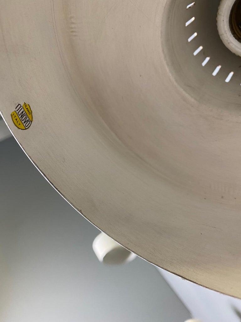 Four Stilnovo Brass Adjustable Wall Lamp, 1960s For Sale 7
