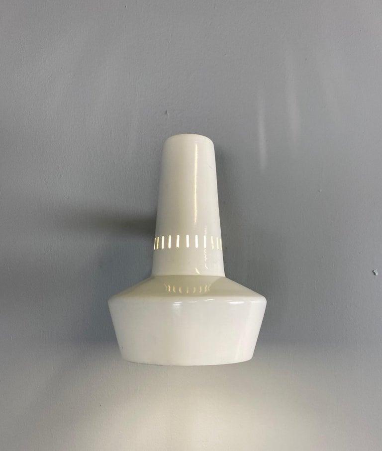 Italian Four Stilnovo Brass Adjustable Wall Lamp, 1960s For Sale