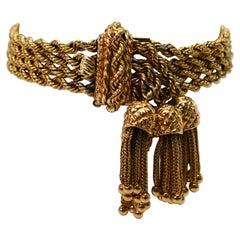 14k Gold Retro Bracelets