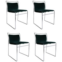 "Mid-Century set of ""Tulu"" Chairs by Kazhuide Takahama for Simon Gavina,Italy '68"