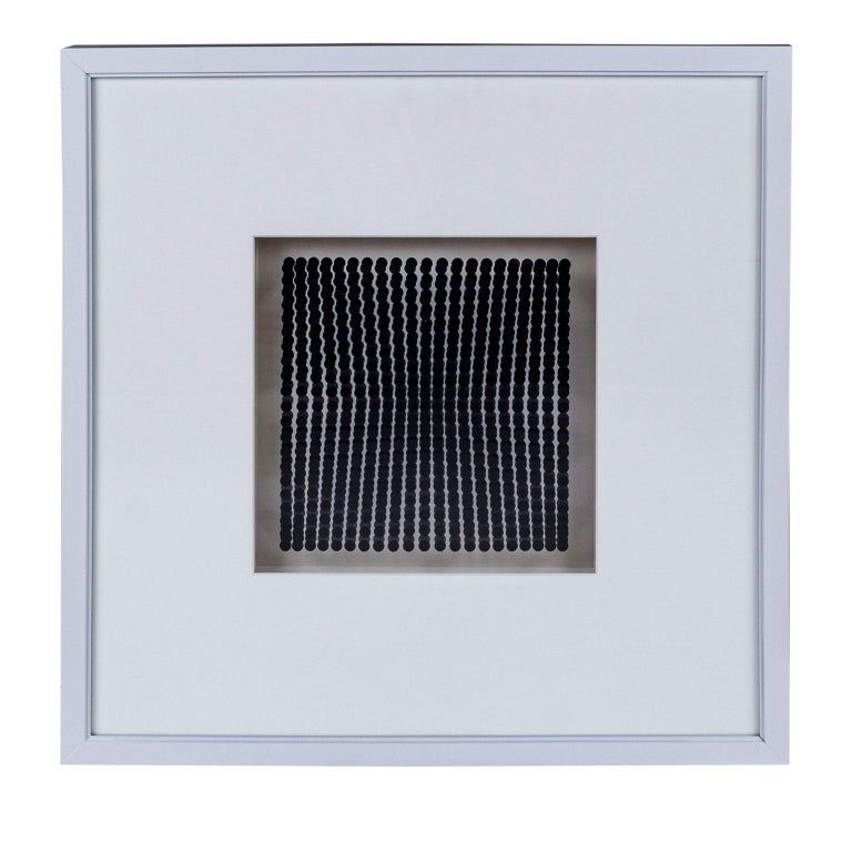 Swiss Four Vasarely Prints, Oeuvres Profondes For Sale