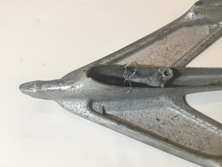 Four Vintage Airplane Wing Hood Car Ornaments Wall Hanging For Sale 3