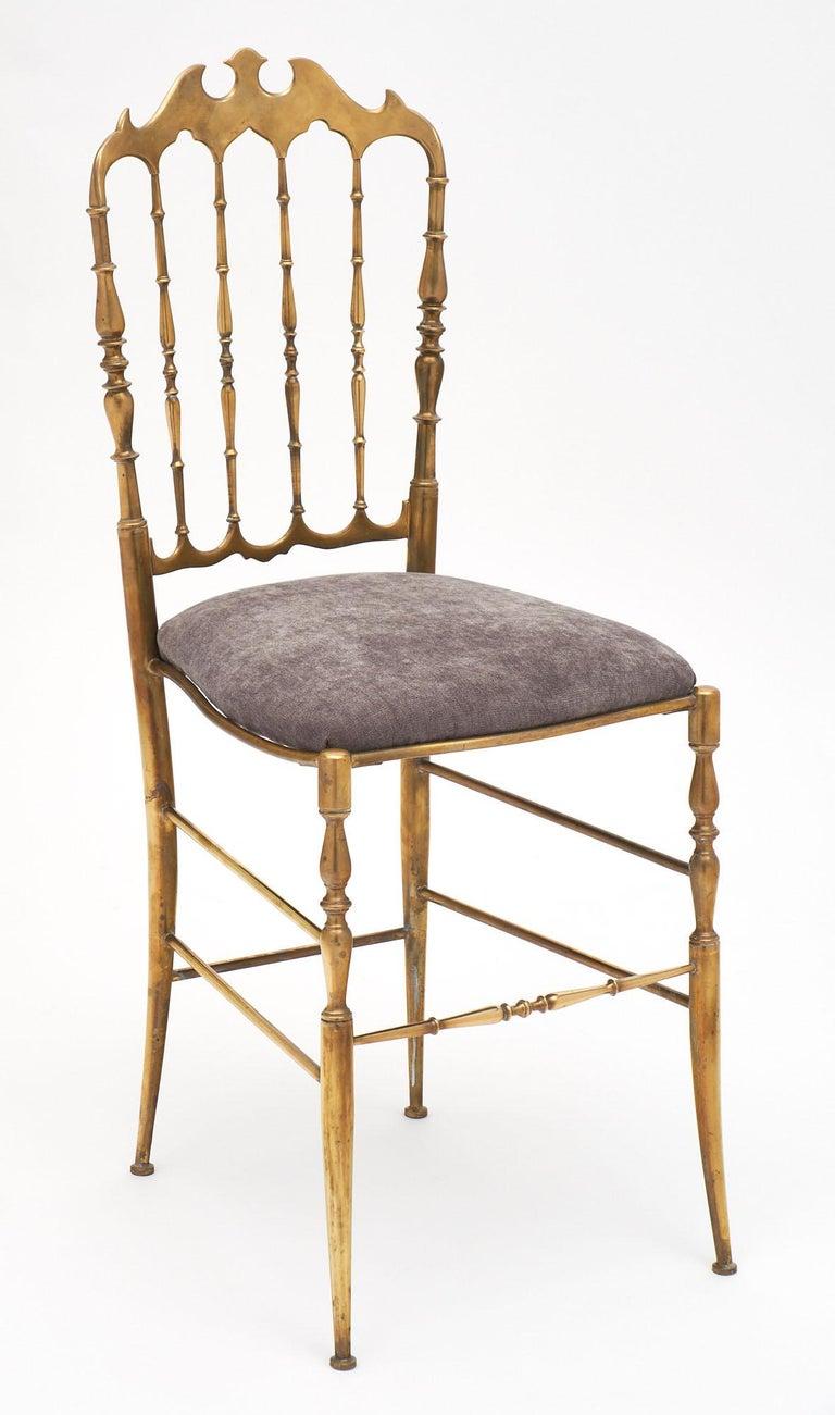Art Deco Four Vintage Chiavari Chairs For Sale