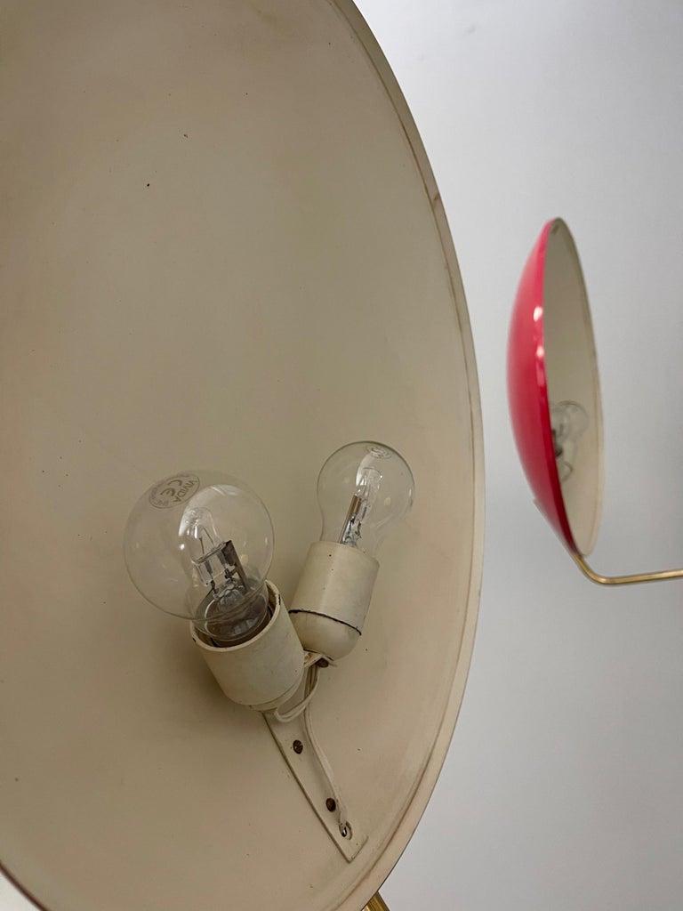 Four Wall Lamp Model 232 by Bruno Gatta for Stilnovo, 1960s For Sale 3