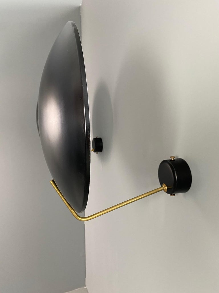 Four Wall Lamp Model 232 by Bruno Gatta for Stilnovo, 1960s For Sale 4