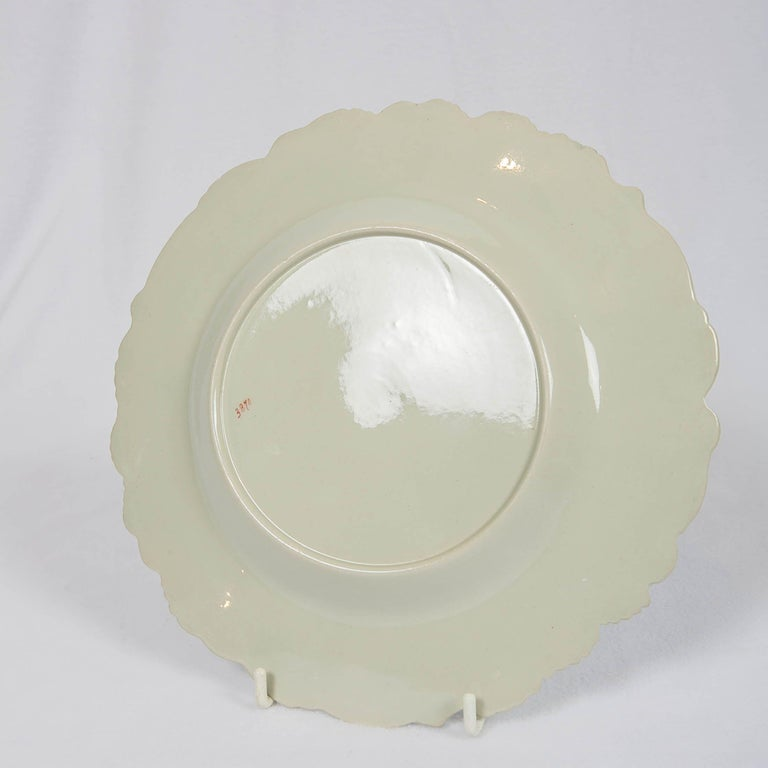 Fourteen Drabware Plates Made in England, circa 1840 For Sale 1