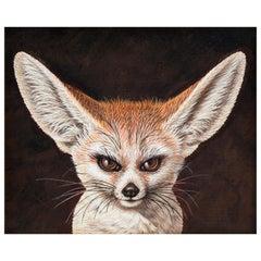 Fox Acrylic on Canvas