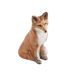 Fox Figure Porcelain German Sofina Boutique Kitzbuehel