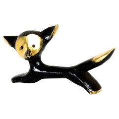 Fox Figurine by Walter Bosse, around 1950s