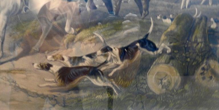 Folk Art Fox Hunting