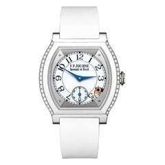 F.P. Journe Elegante White Titanium and Diamonds