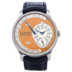 F.P Journe Octa Calendrier 0 Men Stainless Steel Limited Edition of 38 Pieces Wa