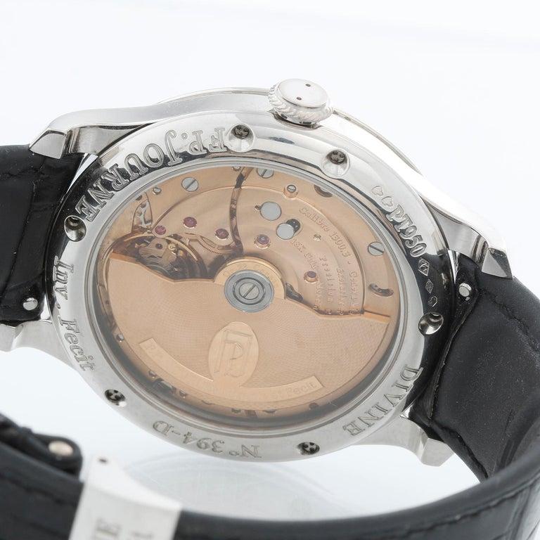 F.P. Journe Octa Divine Platinum Men's Watch 1