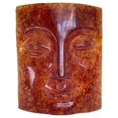 Fractal Resin Face Mask