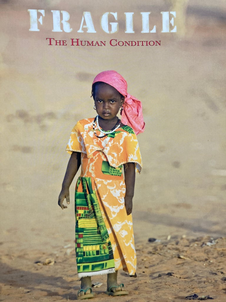 FRAGILE The Human Condition Hardcover Book In Good Condition For Sale In North Hollywood, CA