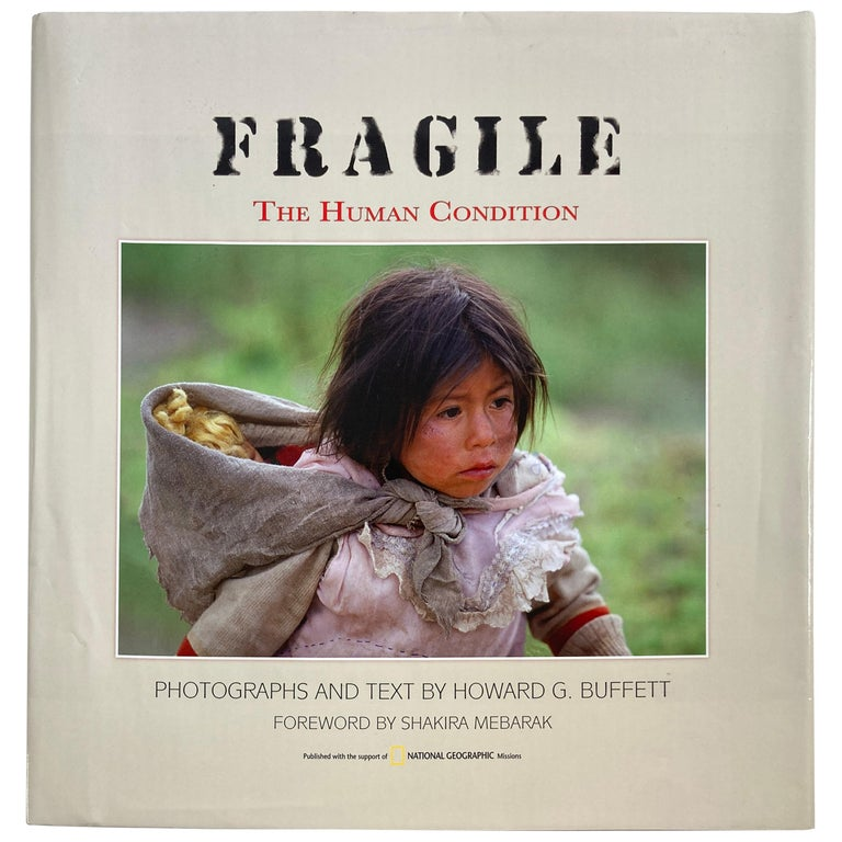FRAGILE The Human Condition Hardcover Book For Sale