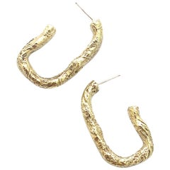 Jacqueline Rose Fragment Hoop Earrings