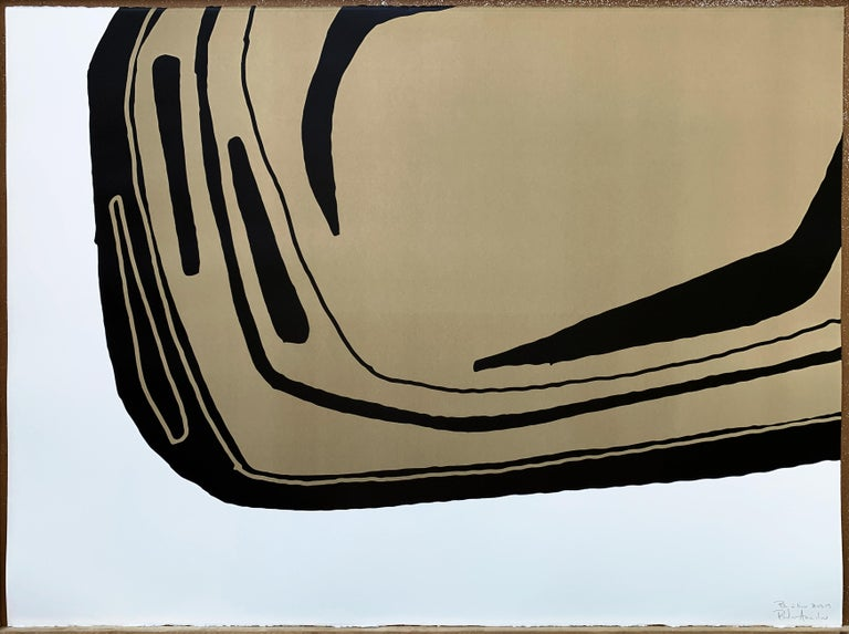 Fragment sable The price is unframed  Silk Print in a signed limited edition, numbered serie from 1 to 12.
