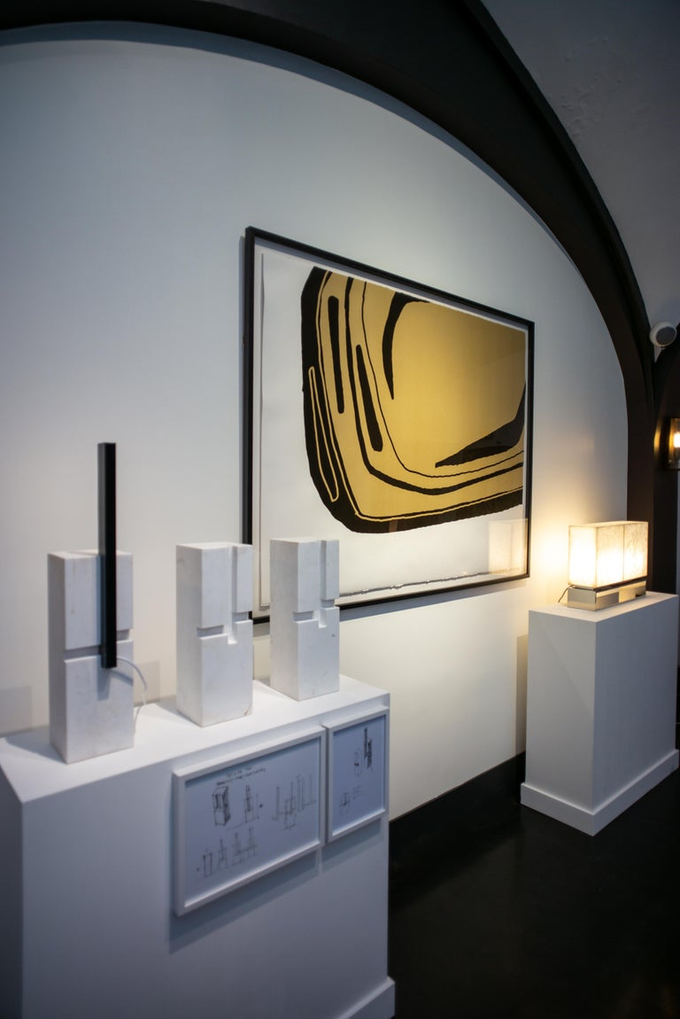 Fragment Sable, Screen Print, by Reda Amalou Design, 21st Century In New Condition For Sale In Paris, FR