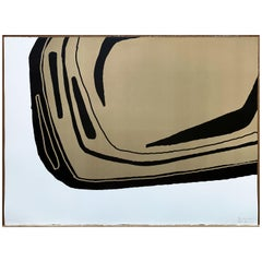 Fragment Sable, Screen Print, by Reda Amalou Design, 21st Century