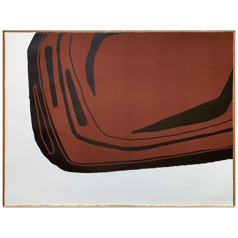 Fragment Terre Cuite, Screen Print, by Reda Amalou Design, 21st Century For Sale