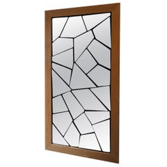 "Fragmented Mirror with Orientables Facets ""Mil'faces'' by Alexandre Taveau"