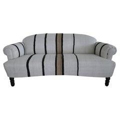 """Desert House Sofa"" in Vintage Kilim, ""one-of-a-kind"""