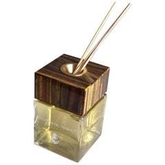 Fragrance Diffuser with Tiger Eye Lid