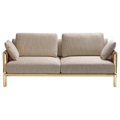 Frame Beige 2-Seater Sofa