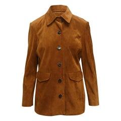 Frame Brown Suede Jacket