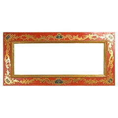 Frame, Polychromed and Giltwood, 18th Century