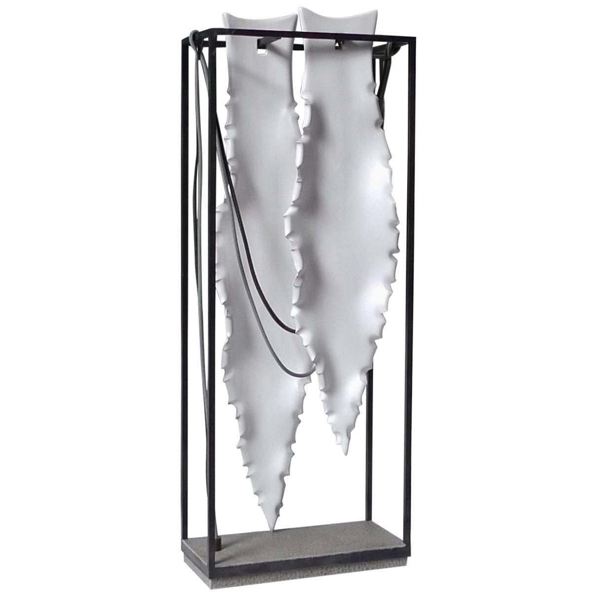 Framed Agave Leafs Table Lamp by Sander Bottinga