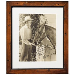 Framed and Signed Photograph of Jerry McCree and Junio